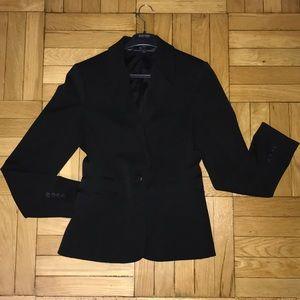 Express blazer one button, black, size 8